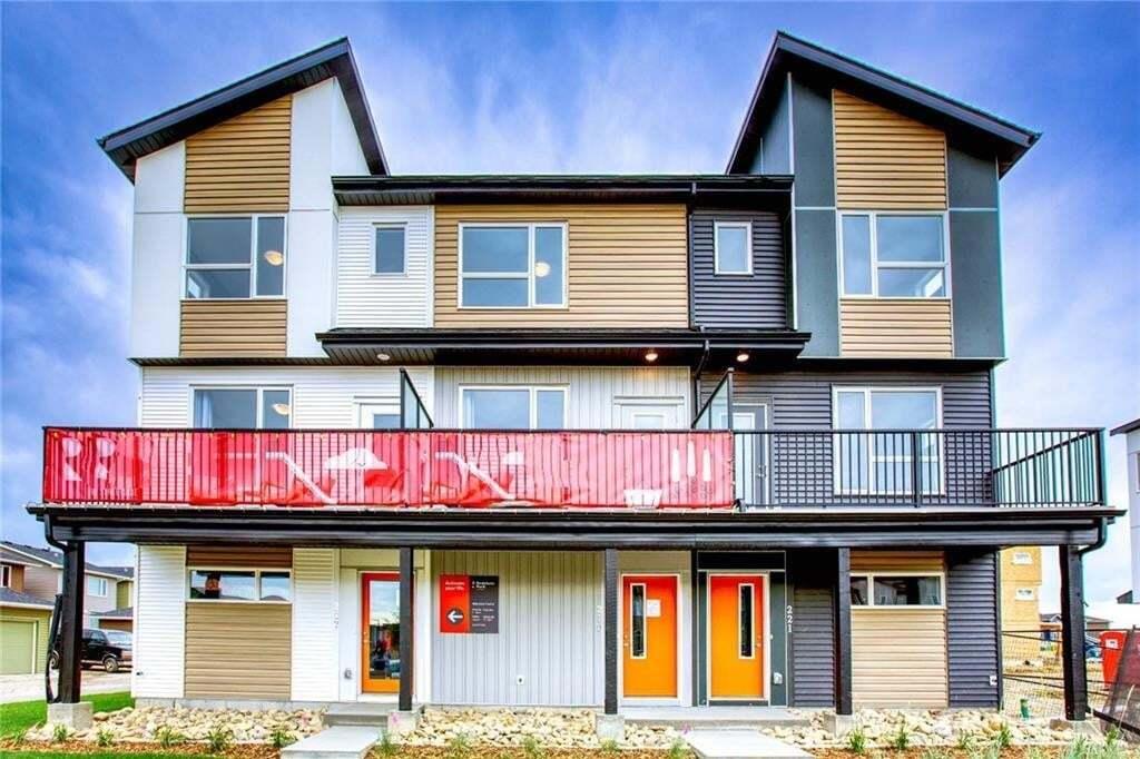 Townhouse for sale at 245 Redstone Bv NE Redstone, Calgary Alberta - MLS: C4306230