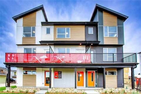 Townhouse for sale at 245 Redstone Blvd Northeast Calgary Alberta - MLS: C4306230