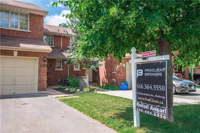For Sale: 2452 New Wood Drive, Oakville, ON | 3 Bed, 2 Bath Townhouse for $627,900. See 19 photos!