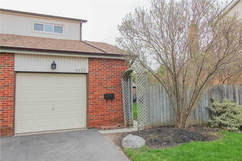 Townhouse for sale at 2453 Basswood Cres Mississauga Ontario - MLS: W4448957