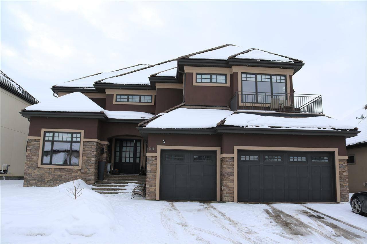 House for sale at 2457 Cameron Ravine Dr Nw Edmonton Alberta - MLS: E4188388