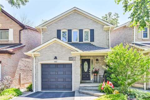 House for sale at 2458 Grindstone Ct Mississauga Ontario - MLS: W4814530