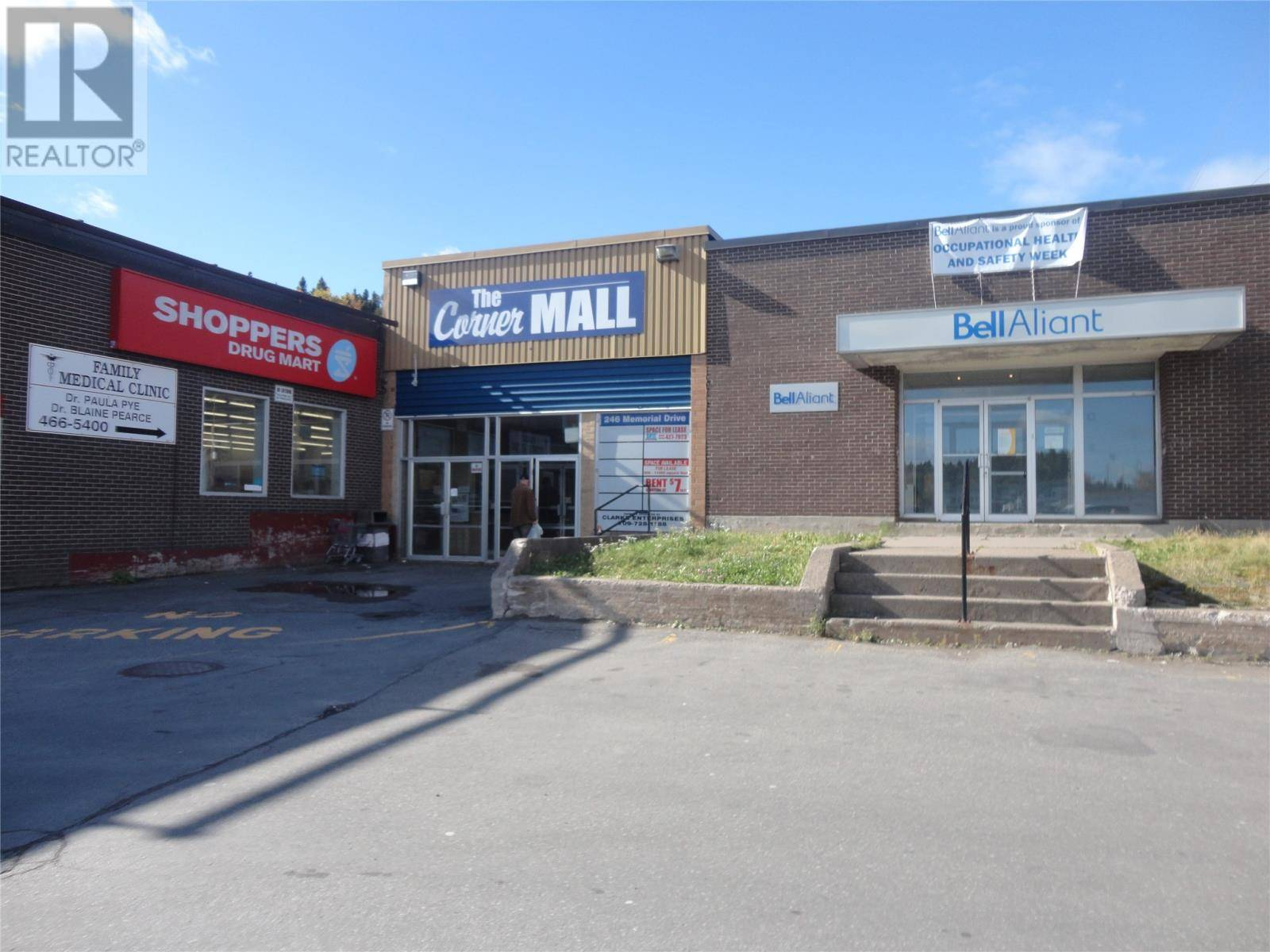 Commercial property for sale at 246 Memorial Dr Clarenville Newfoundland - MLS: 1211444