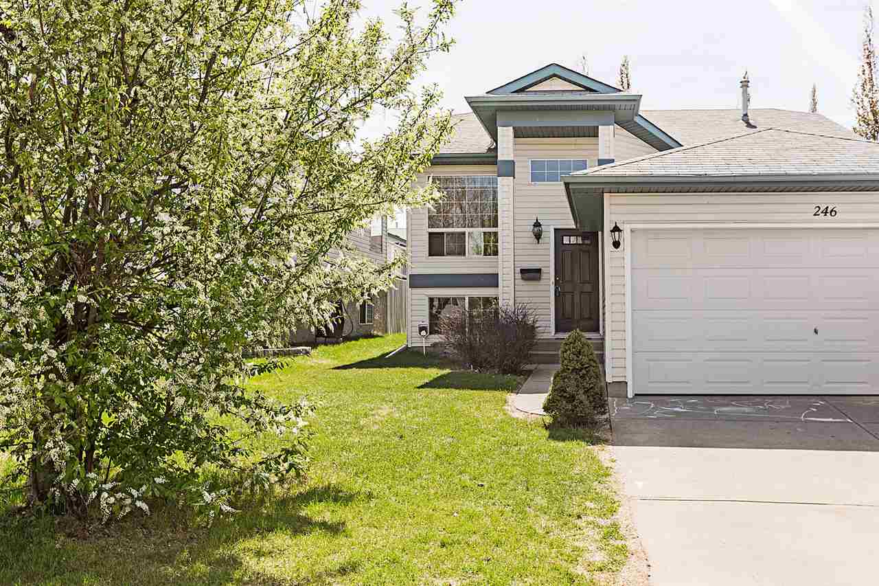 For Sale: 246 Rainbow Crescent, Sherwood Park, AB | 3 Bed, 2 Bath House for $375,000. See 26 photos!