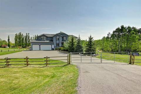 House for sale at 246040 24 St East Rural Foothills County Alberta - MLS: C4248588