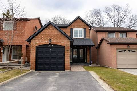 House for sale at 2462 Ploughshare Ct Mississauga Ontario - MLS: W4737776