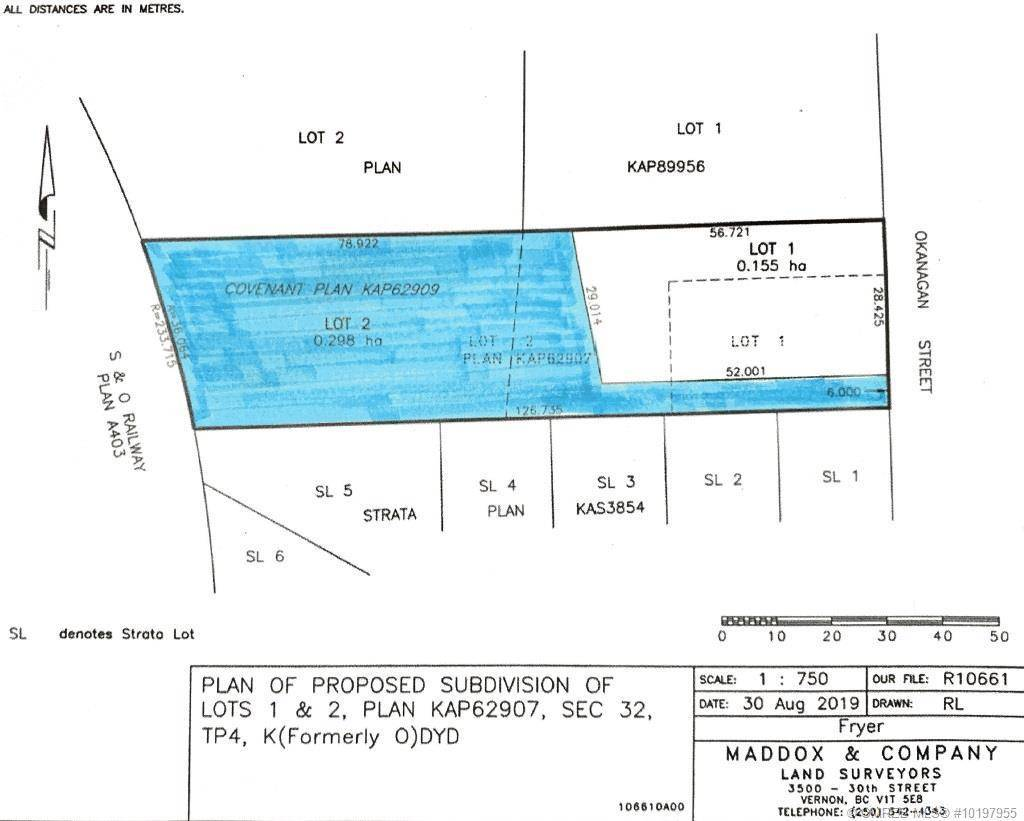 Residential property for sale at 2465 Okanagan St Armstrong British Columbia - MLS: 10197955