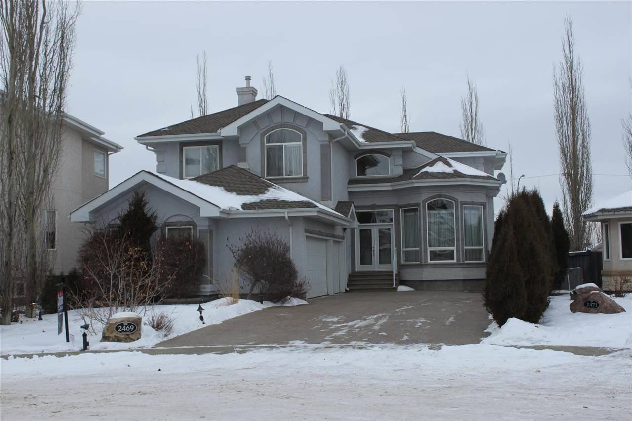House for sale at 2469 Tegler Gr Nw Edmonton Alberta - MLS: E4174274