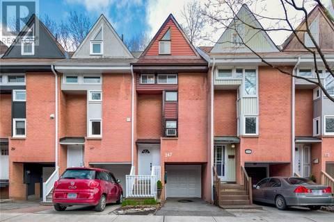 Townhouse for sale at 247 Ontario St Toronto Ontario - MLS: 30743462