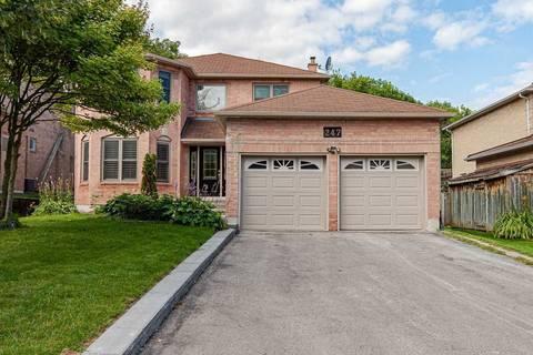 House for sale at 247 Tamarac Tr Aurora Ontario - MLS: N4593485