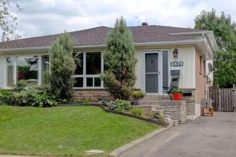 Townhouse for sale at 2474 Glamworth Cres Mississauga Ontario - MLS: W4868684