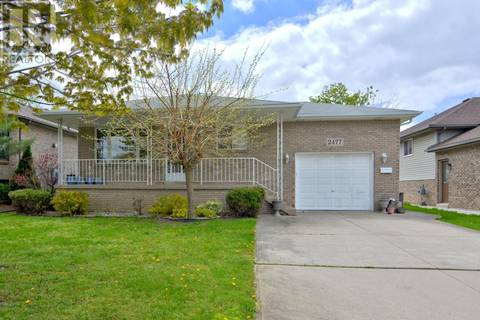 House for sale at 2477 Olive  Windsor Ontario - MLS: 19018599