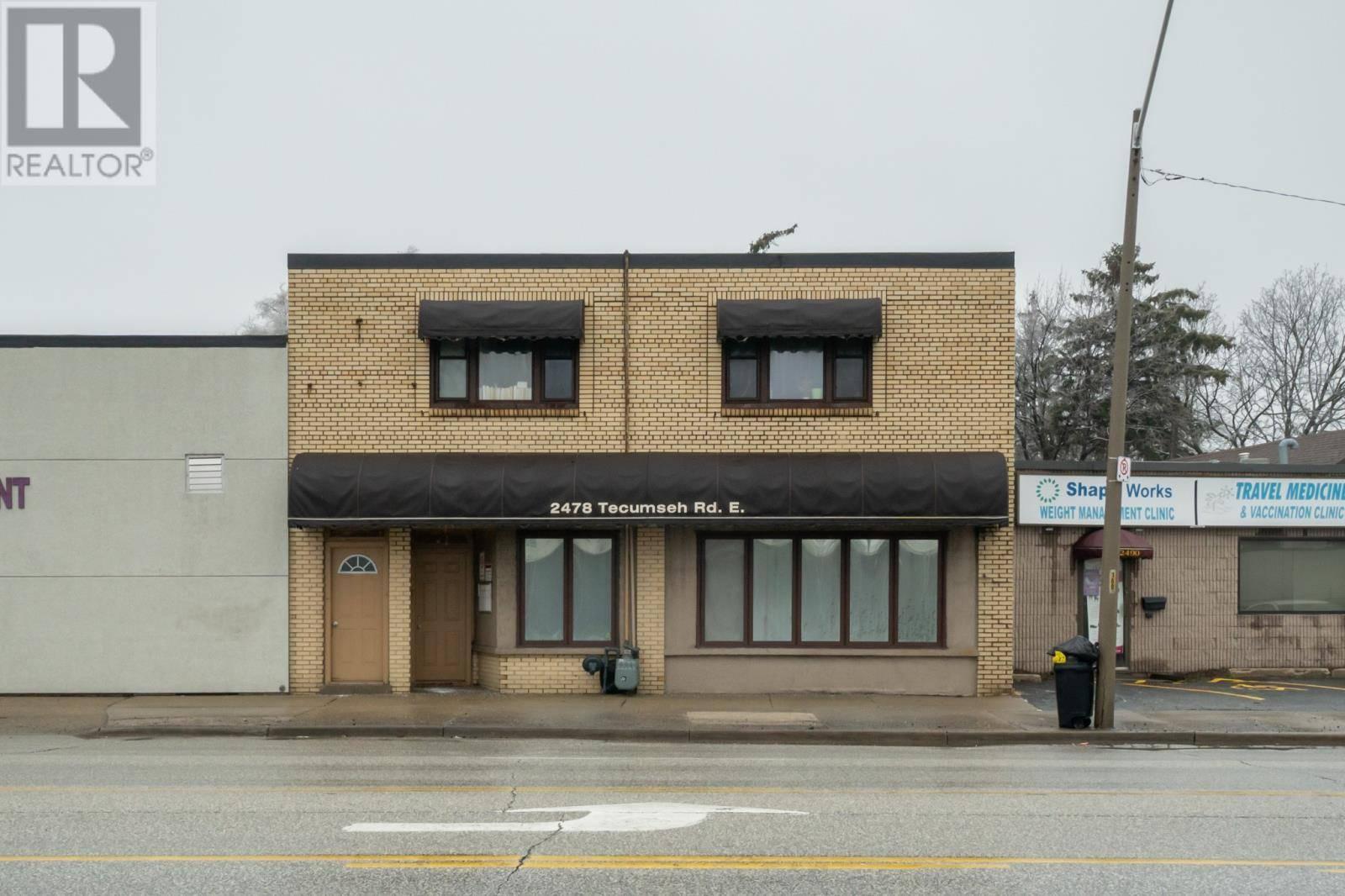 House for sale at 2478 Tecumseh Rd East Windsor Ontario - MLS: 19017530