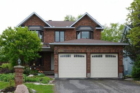House for sale at 248 Mcgibbon Dr Ottawa Ontario - MLS: 1153179