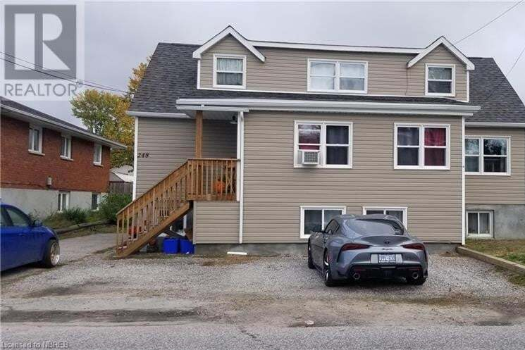 Townhouse for sale at 248 Norwood Ave North Bay Ontario - MLS: 40027681