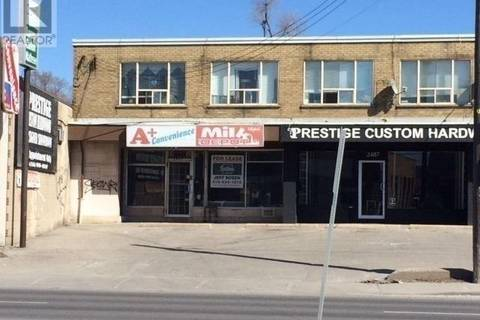 Commercial property for lease at 2489 Dufferin St Toronto Ontario - MLS: W4661123
