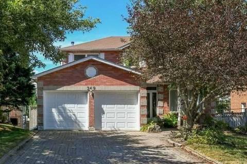 House for sale at 249 Edenwood Cres Orangeville Ontario - MLS: W4546505