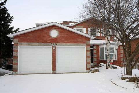 House for sale at 249 Edenwood Cres Orangeville Ontario - MLS: W4578545