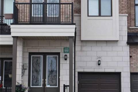 Townhouse for sale at 249 Elyse Ct Aurora Ontario - MLS: N4424430