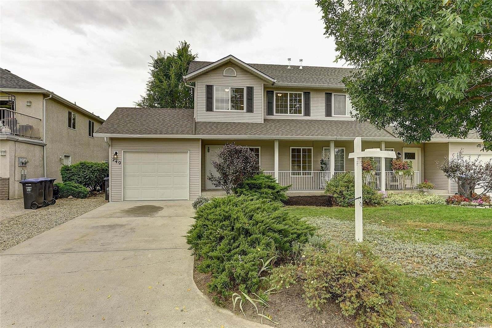 Townhouse for sale at 249 Klassen Rd Kelowna British Columbia - MLS: 10215702