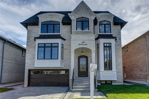 House for sale at 249 Patricia Ave Toronto Ontario - MLS: C4496076