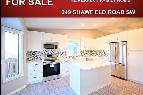 House for sale at 249 Shawfield Rd Southwest Calgary Alberta - MLS: C4243590