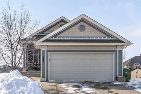 House for sale at 249 Sunset Ht Cochrane Alberta - MLS: C4292149