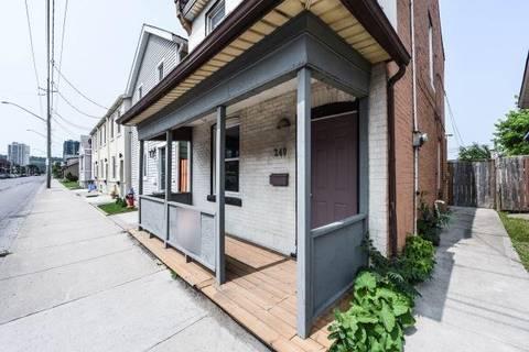 House for sale at 249 Wellington St Hamilton Ontario - MLS: X4500733