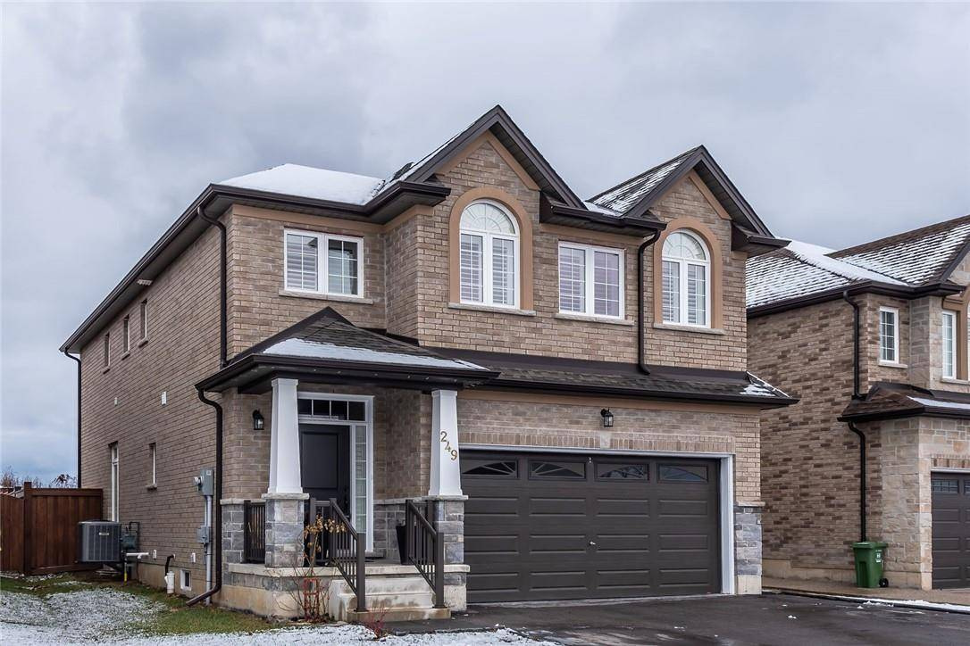 House for sale at 249 Winterberry Dr Stoney Creek Ontario - MLS: H4069868