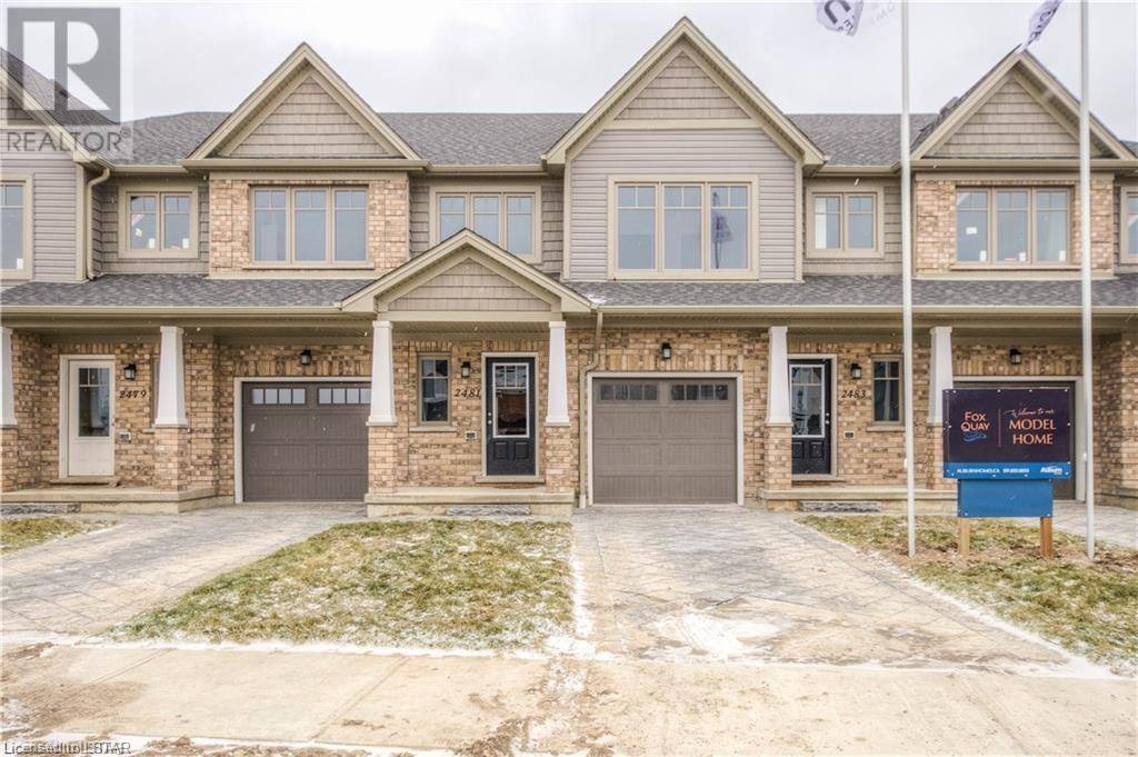 Townhouse for sale at 33 Tokala Tr Unit 2491 London Ontario - MLS: 239672