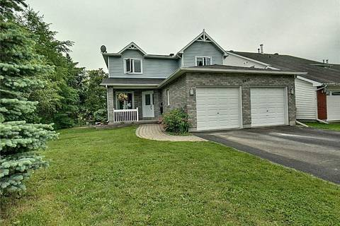 House for sale at 2493 Orient Park Dr Ottawa Ontario - MLS: 1156289