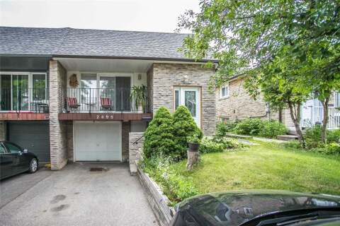Townhouse for sale at 2495 Cobbinshaw Circ Mississauga Ontario - MLS: W4808281