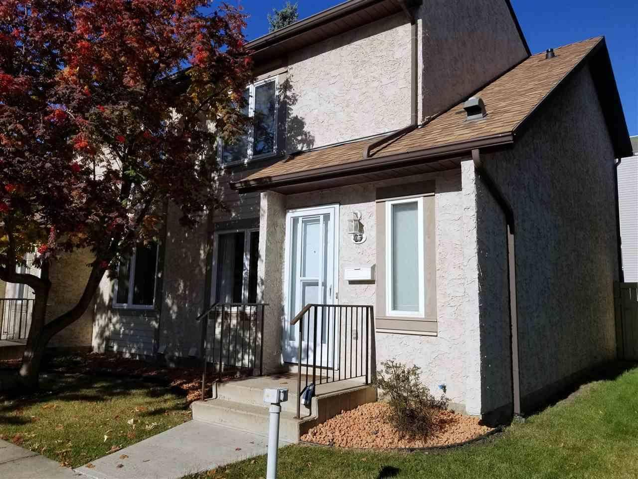 Townhouse for sale at 11115 27 Ave Nw Unit 25 Edmonton Alberta - MLS: E4172708
