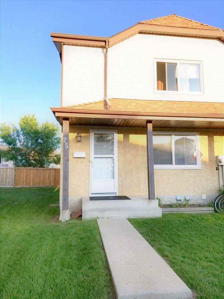 Townhouse for sale at 1411 Millwoods Rd Nw Unit 25 Edmonton Alberta - MLS: E4167822