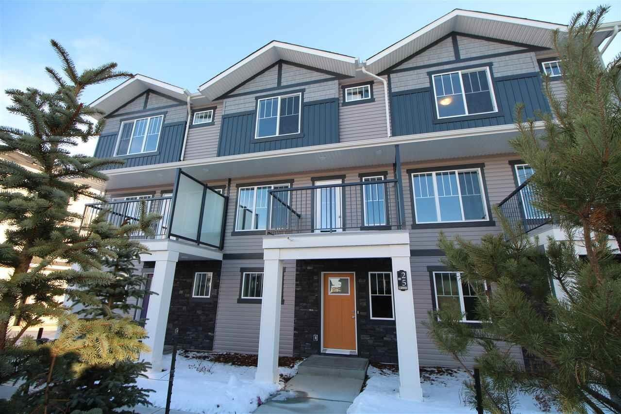 Townhouse for sale at 165 Cy Becker Bv NW Unit 25 Edmonton Alberta - MLS: E4221255