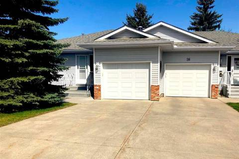 Townhouse for sale at 1650 42 St Nw Unit 25 Edmonton Alberta - MLS: E4156748