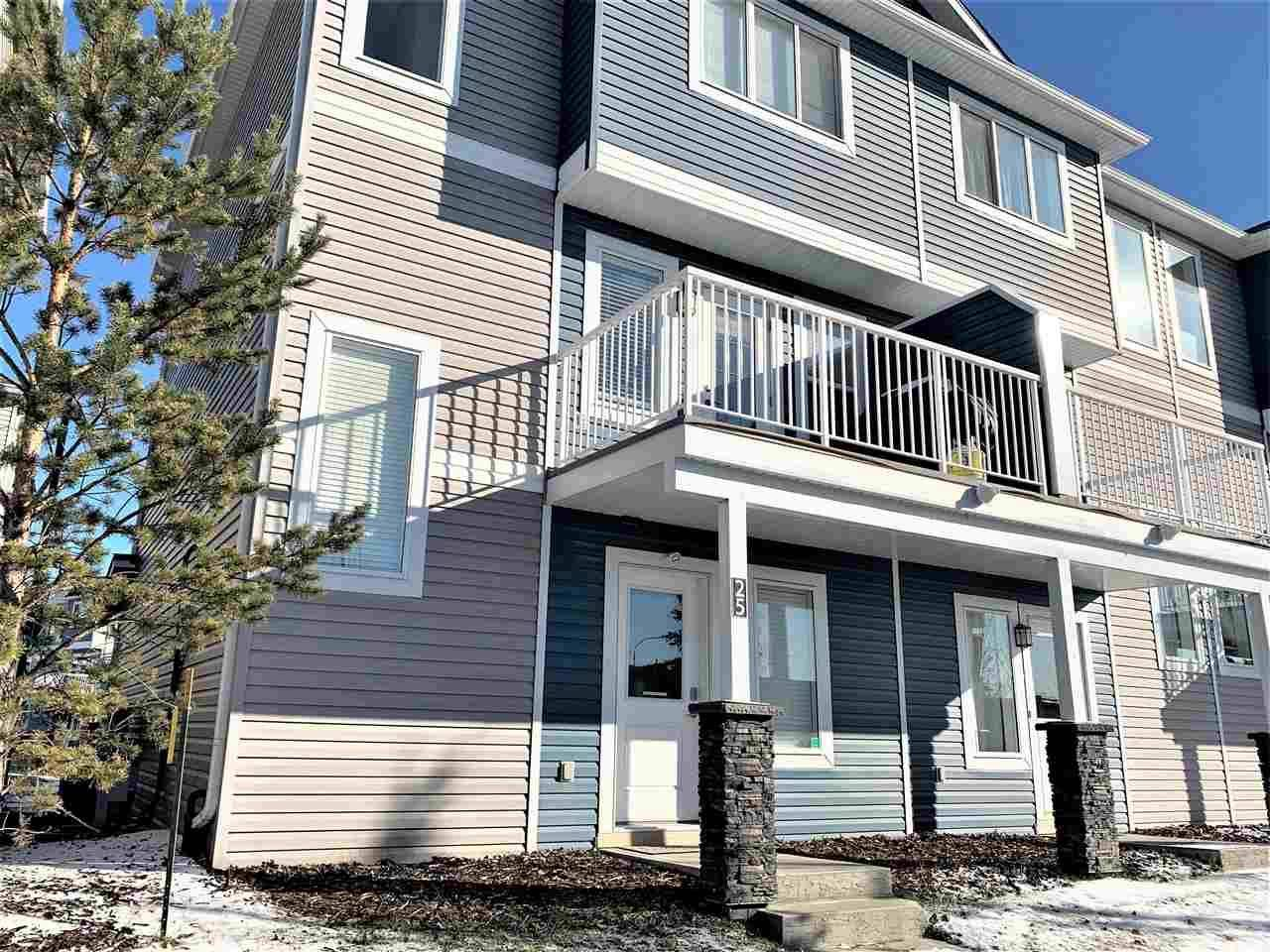 Townhouse for sale at 1816 Rutherford Rd Sw Unit 25 Edmonton Alberta - MLS: E4168305