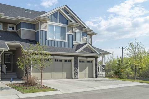 Townhouse for sale at 2004 Trumpeter Wy Nw Unit 25 Edmonton Alberta - MLS: E4156811