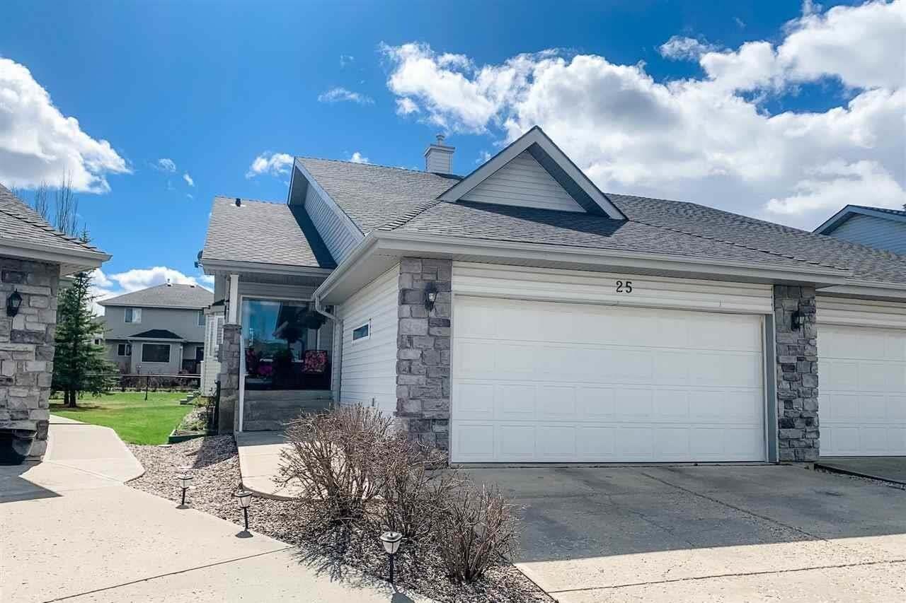 Townhouse for sale at 330 Galbraith Cl NW Unit 25 Edmonton Alberta - MLS: E4189749