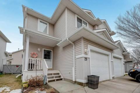 Townhouse for sale at 4020 21 St Nw Unit 25 Edmonton Alberta - MLS: E4148935
