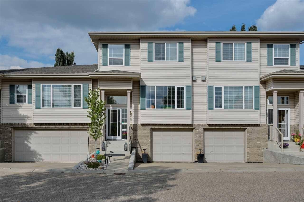 Townhouse for sale at 420 Hunters Gr Nw Unit 25 Edmonton Alberta - MLS: E4174262