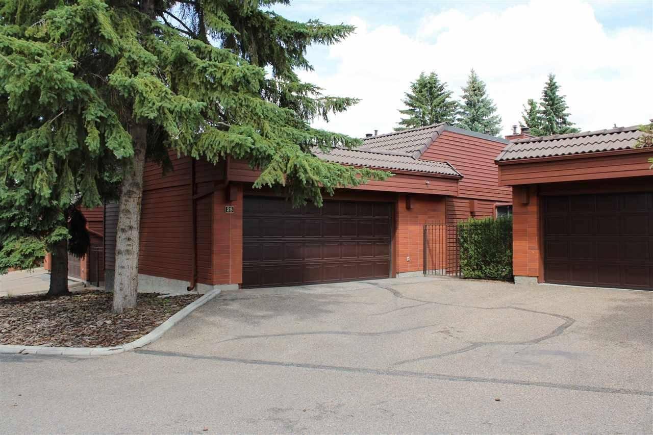 Townhouse for sale at 500 Lessard Dr Nw Unit 25 Edmonton Alberta - MLS: E4178823
