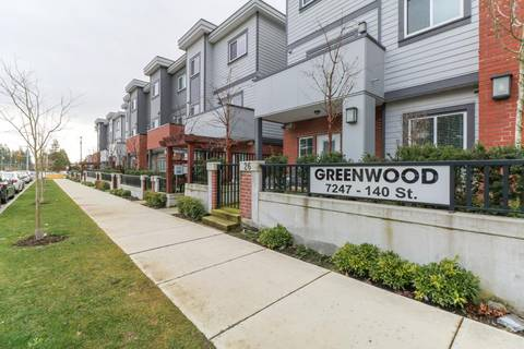 Townhouse for sale at 7247 140 St Unit 25 Surrey British Columbia - MLS: R2438373
