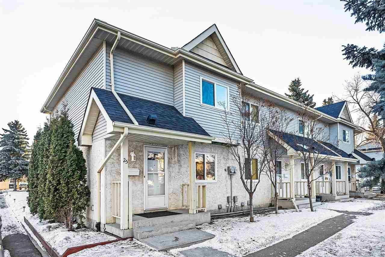 Townhouse for sale at 9619 180 St NW Unit 25 Edmonton Alberta - MLS: E4225385