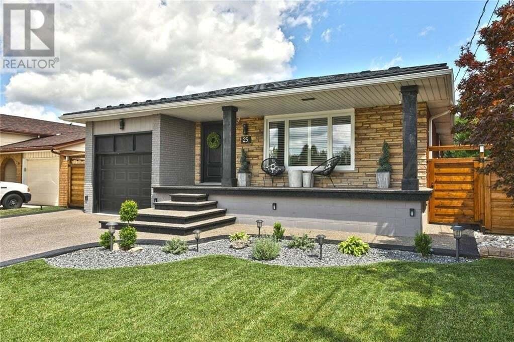 House for sale at 25 Abbington Dr Hamilton Ontario - MLS: 30826208
