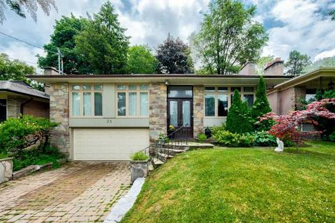 House for sale at 25 Burleigh Heights Dr Toronto Ontario - MLS: C4521717