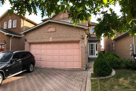 House for sale at 25 Canarvan Ct Brampton Ontario - MLS: W4577010
