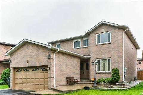 House for sale at 25 Castlehill Rd Brampton Ontario - MLS: W4466717