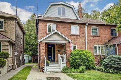 Townhouse for sale at 25 Cheston Rd Toronto Ontario - MLS: C4502972