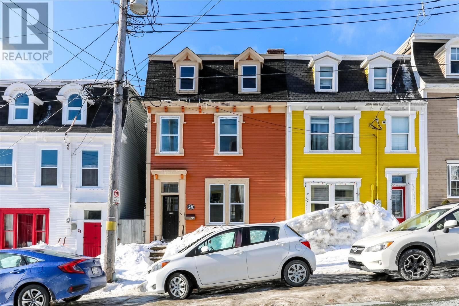 House for sale at 25 Cochrane St St. John's Newfoundland - MLS: 1211662